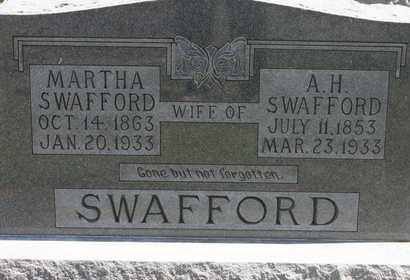 SWAFFORD, A.H. - Bledsoe County, Tennessee | A.H. SWAFFORD - Tennessee Gravestone Photos