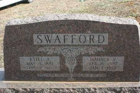 SWAFFORD, ESTEL JASPER - Bledsoe County, Tennessee | ESTEL JASPER SWAFFORD - Tennessee Gravestone Photos