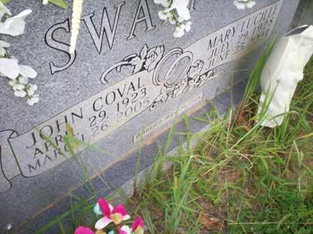 SWAFFORD, JOHN COVAL - Bledsoe County, Tennessee | JOHN COVAL SWAFFORD - Tennessee Gravestone Photos