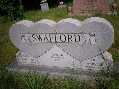 SWAFFORD, JOHN B. - Bledsoe County, Tennessee | JOHN B. SWAFFORD - Tennessee Gravestone Photos