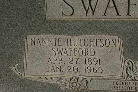 SWAFFORD, NANNIE - Bledsoe County, Tennessee | NANNIE SWAFFORD - Tennessee Gravestone Photos
