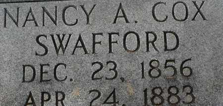 SWAFFORD, NANCY A. - Bledsoe County, Tennessee | NANCY A. SWAFFORD - Tennessee Gravestone Photos