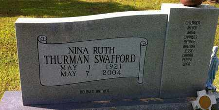 SWAFFORD, NINA RUTH - Bledsoe County, Tennessee | NINA RUTH SWAFFORD - Tennessee Gravestone Photos