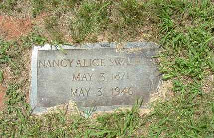 "SWAFFORD, NANCY ALICE ""ALLIE"" - Bledsoe County, Tennessee 