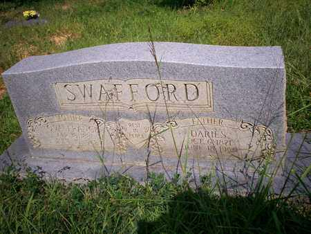 SWAFFORD, DARIES - Bledsoe County, Tennessee | DARIES SWAFFORD - Tennessee Gravestone Photos