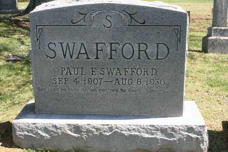 SWAFFORD, PAUL ENOCH - Bledsoe County, Tennessee | PAUL ENOCH SWAFFORD - Tennessee Gravestone Photos