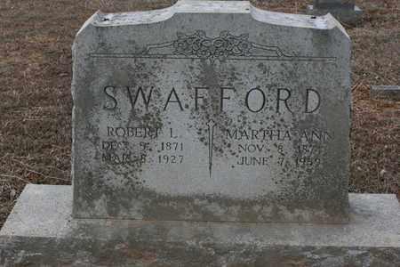 SWAFFORD, MARTHA ANN - Bledsoe County, Tennessee | MARTHA ANN SWAFFORD - Tennessee Gravestone Photos