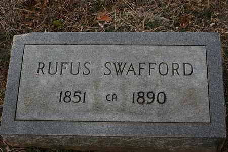 SWAFFORD, RUFUS - Bledsoe County, Tennessee | RUFUS SWAFFORD - Tennessee Gravestone Photos