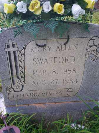SWAFFORD, RICK ALLEN - Bledsoe County, Tennessee | RICK ALLEN SWAFFORD - Tennessee Gravestone Photos