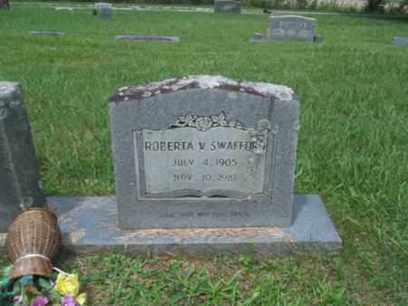 SWAFFORD, ROBERTA V. - Bledsoe County, Tennessee | ROBERTA V. SWAFFORD - Tennessee Gravestone Photos