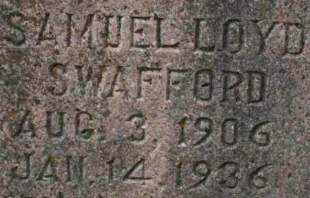SWAFFORD, SAMUEL LOYD - Bledsoe County, Tennessee | SAMUEL LOYD SWAFFORD - Tennessee Gravestone Photos