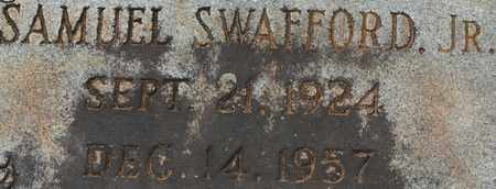 SWAFFORD, SAMUEL JR. - Bledsoe County, Tennessee   SAMUEL JR. SWAFFORD - Tennessee Gravestone Photos