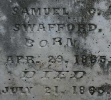 SWAFFORD, SAMUEL G. - Bledsoe County, Tennessee   SAMUEL G. SWAFFORD - Tennessee Gravestone Photos