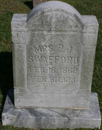 SWAFFORD, SARAH - Bledsoe County, Tennessee | SARAH SWAFFORD - Tennessee Gravestone Photos