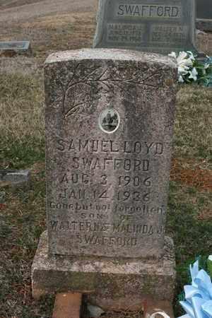 SWAFFORD, SAMUEL WALTER - Bledsoe County, Tennessee | SAMUEL WALTER SWAFFORD - Tennessee Gravestone Photos
