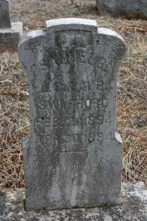 SWAFFORD, SAMUEL B. - Bledsoe County, Tennessee | SAMUEL B. SWAFFORD - Tennessee Gravestone Photos