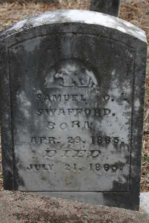 SWAFFORD, SAMUEL C. - Bledsoe County, Tennessee | SAMUEL C. SWAFFORD - Tennessee Gravestone Photos