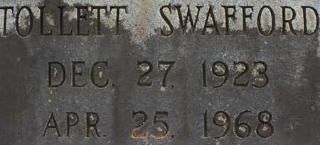 SWAFFORD, TOLLETT - Bledsoe County, Tennessee | TOLLETT SWAFFORD - Tennessee Gravestone Photos