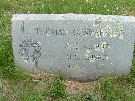 SWAFFORD, THOMAS C. - Bledsoe County, Tennessee | THOMAS C. SWAFFORD - Tennessee Gravestone Photos