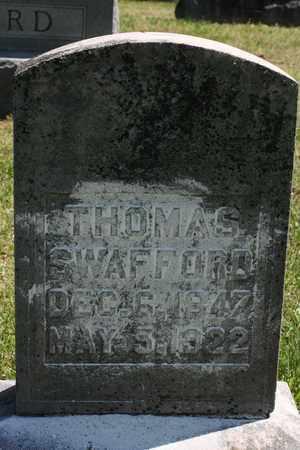 SWAFFORD, THOMAS - Bledsoe County, Tennessee | THOMAS SWAFFORD - Tennessee Gravestone Photos
