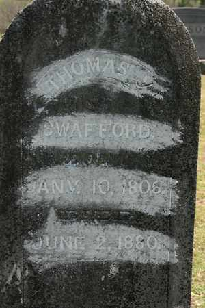 SWAFFORD, THOMAS Y. JR. - Bledsoe County, Tennessee | THOMAS Y. JR. SWAFFORD - Tennessee Gravestone Photos