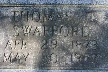 SWAFFORD, THOMAS D. BEN - Bledsoe County, Tennessee | THOMAS D. BEN SWAFFORD - Tennessee Gravestone Photos