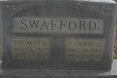 SWAFFORD, THOMAS EMMET - Bledsoe County, Tennessee | THOMAS EMMET SWAFFORD - Tennessee Gravestone Photos
