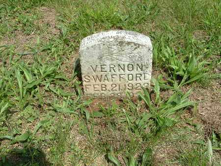 SWAFFORD, VERNON - Bledsoe County, Tennessee | VERNON SWAFFORD - Tennessee Gravestone Photos