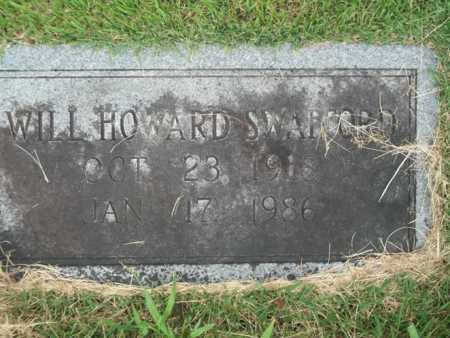 SWAFFORD, WILL HOWARD - Bledsoe County, Tennessee | WILL HOWARD SWAFFORD - Tennessee Gravestone Photos