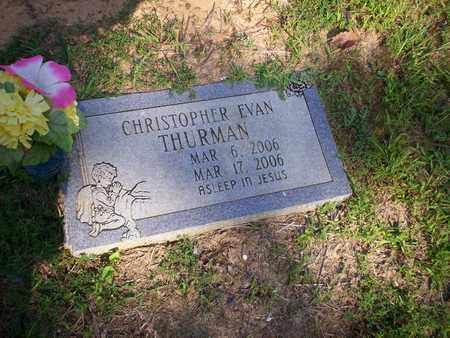 THURMAN, CHRISTOPHER EVAN - Bledsoe County, Tennessee | CHRISTOPHER EVAN THURMAN - Tennessee Gravestone Photos
