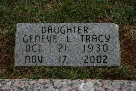 TRACY, GENEVE L. - Bledsoe County, Tennessee   GENEVE L. TRACY - Tennessee Gravestone Photos