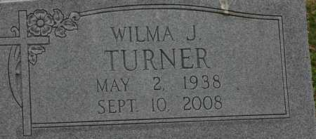 TURNER, WILMA - Bledsoe County, Tennessee | WILMA TURNER - Tennessee Gravestone Photos