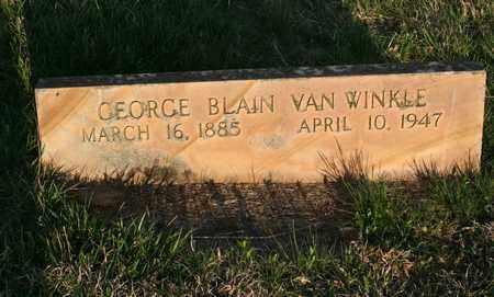 VANWINKLE, GEORGE BLAIN - Bledsoe County, Tennessee | GEORGE BLAIN VANWINKLE - Tennessee Gravestone Photos