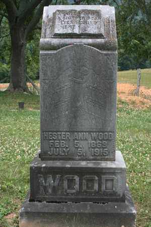 WOOD, HESTER ANN - Bledsoe County, Tennessee | HESTER ANN WOOD - Tennessee Gravestone Photos