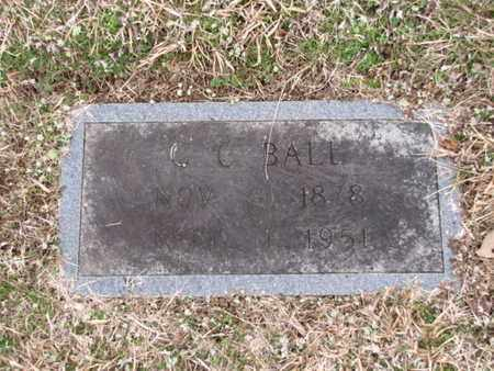 BALL, C C - Blount County, Tennessee | C C BALL - Tennessee Gravestone Photos