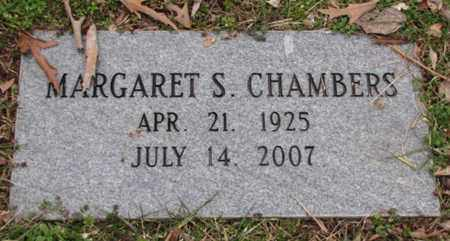CHAMBERS, MARGARET S. - Blount County, Tennessee | MARGARET S. CHAMBERS - Tennessee Gravestone Photos
