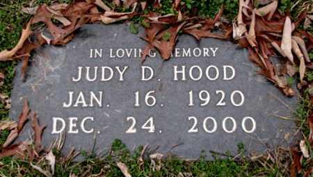 HOOD, JUDY D. - Blount County, Tennessee | JUDY D. HOOD - Tennessee Gravestone Photos