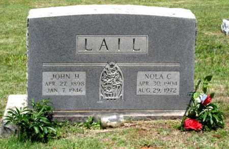 LAIL, JOHN H. - Blount County, Tennessee | JOHN H. LAIL - Tennessee Gravestone Photos