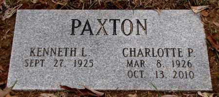 PAXTON, CHARLOTTE P. - Blount County, Tennessee | CHARLOTTE P. PAXTON - Tennessee Gravestone Photos