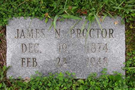 PROCTOR, JAMES N. - Blount County, Tennessee | JAMES N. PROCTOR - Tennessee Gravestone Photos