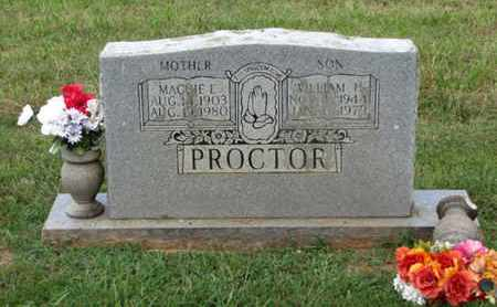 PROCTOR, WILLIAM H - Blount County, Tennessee | WILLIAM H PROCTOR - Tennessee Gravestone Photos