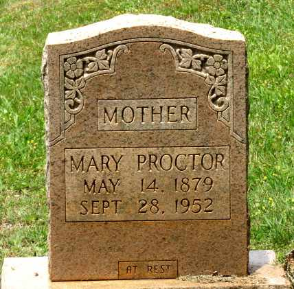 PROCTOR, MARY - Blount County, Tennessee | MARY PROCTOR - Tennessee Gravestone Photos