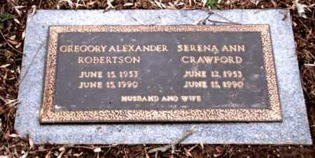 CRAWFORD ROBERTSON, SERENA ANN - Blount County, Tennessee | SERENA ANN CRAWFORD ROBERTSON - Tennessee Gravestone Photos