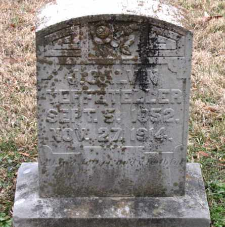 TEFFETELLER, J. CALVIN - Blount County, Tennessee | J. CALVIN TEFFETELLER - Tennessee Gravestone Photos