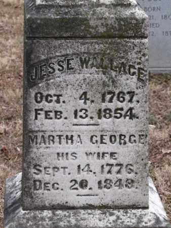 GEORGE WALLACE, MARTHA - Blount County, Tennessee | MARTHA GEORGE WALLACE - Tennessee Gravestone Photos