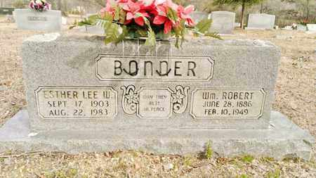 BONNER, ESTHER LEE W. - Bradley County, Tennessee | ESTHER LEE W. BONNER - Tennessee Gravestone Photos