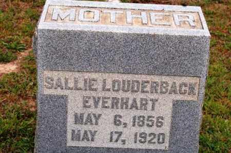 EVERHART, SALLIE - Bradley County, Tennessee | SALLIE EVERHART - Tennessee Gravestone Photos
