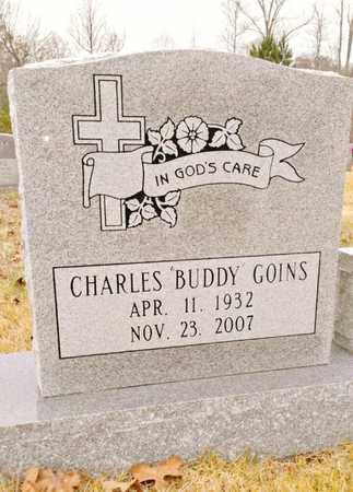 """GOINS, CHARLES """"BUDDY"""" - Bradley County, Tennessee 
