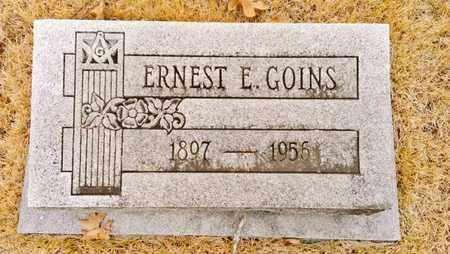 GOINS, ERNEST E. - Bradley County, Tennessee | ERNEST E. GOINS - Tennessee Gravestone Photos