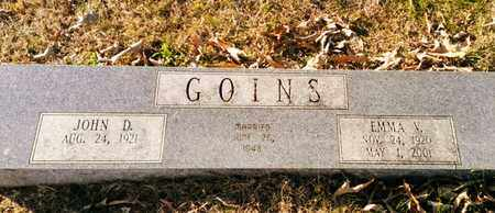 GOINS, EMMA VICTORIA - Bradley County, Tennessee | EMMA VICTORIA GOINS - Tennessee Gravestone Photos